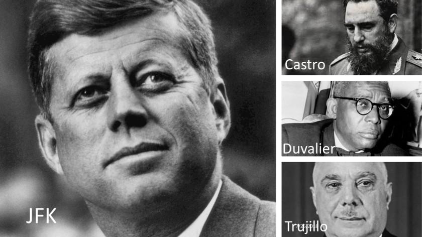 JFK_Castro_DUvalier_Trujillo